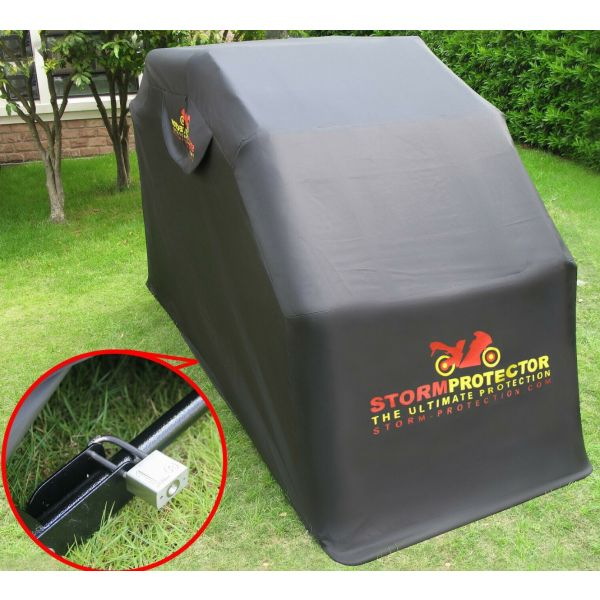StormProtector® Standard Size Motorcycle Shelter Garage Cover