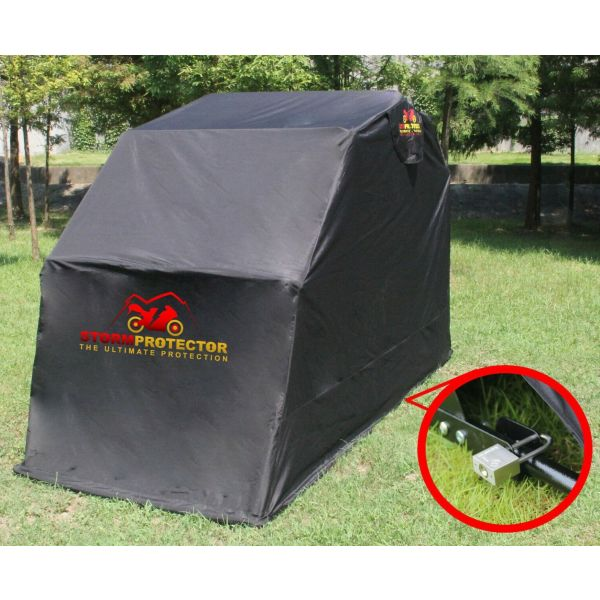 StormProtector® Extra Large Size Motorcycle Shelter Garage